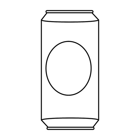 beverage can isolated icon vector illustration design