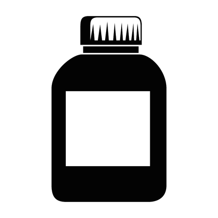 プラスチック ボトル製品アイコン ベクトル イラスト デザイン