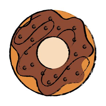 おいしい甘いドーナツ アイコン ベクトル イラスト デザイン 写真素材 - 87841850