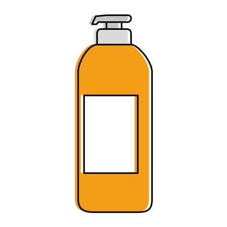 石鹸ボトル アイコン イラスト デザイン。  イラスト・ベクター素材