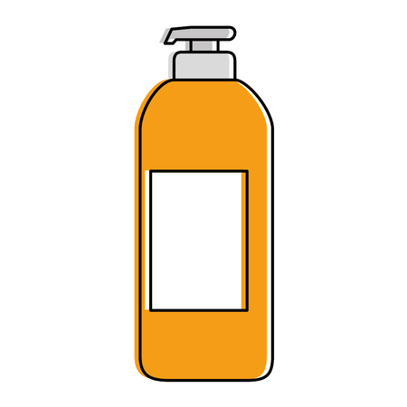 Soap bottle icon illustration design.