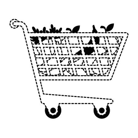 Panier avec des légumes vector illustration design Banque d'images - 87998115