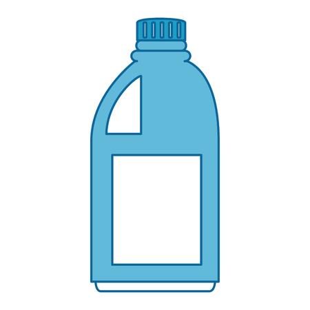 洗剤のボトル分離アイコン ベクトル イラスト デザイン