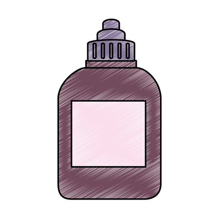 plastic bottle product icon vector illustration design