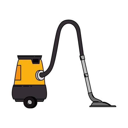 vacuum appliance isolated icon vector illustration design