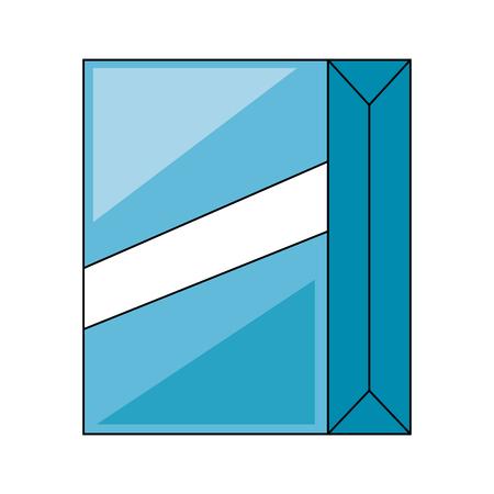 powder detergent box icon vector illustration design