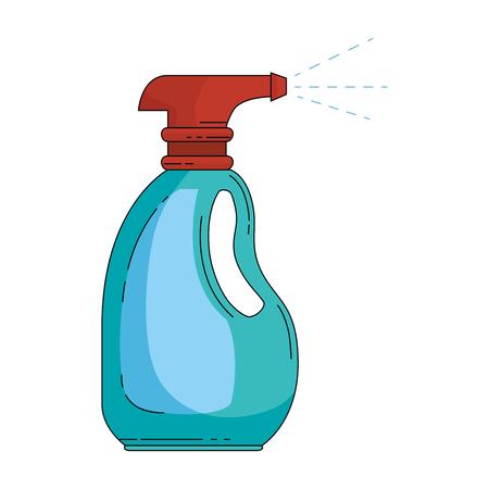 spray bottle product icon vector illustration design