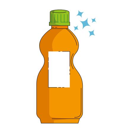 洗剤のボトル分離アイコン ベクトル イラスト デザイン 写真素材 - 87998389