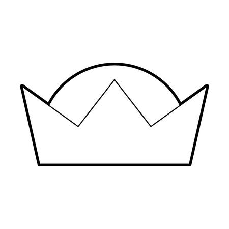 クラウンの賢明な王の華やかな宝石イメージ ベクトル イラスト  イラスト・ベクター素材