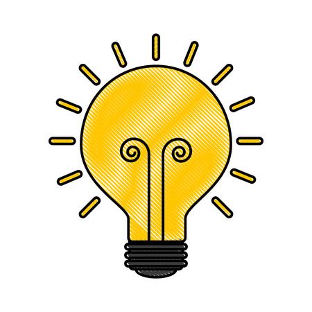 business idea creativity innovation icon vector illustration