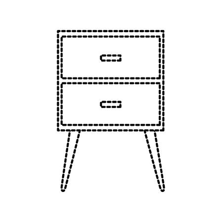 테이블 서랍 가구 스톡 콘텐츠 - 88092227