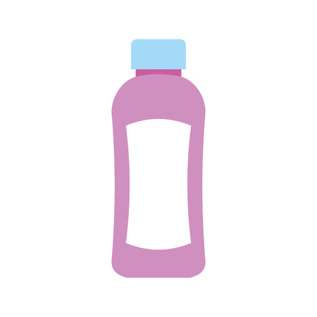 Shampoo plastic bottle lotion or shower gel template
