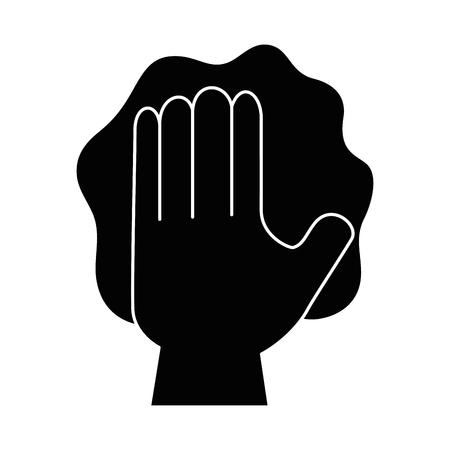 グローブ ベクトル イラスト デザインで手を拭く