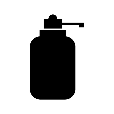 dispenser bottle gel liquid soap lotion vector illustration