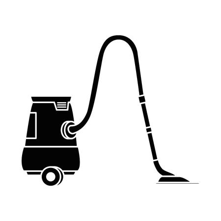Appareil à vide isolé icône design d'illustration vectorielle Banque d'images - 88185026