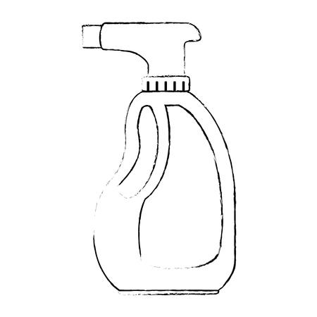 スプレー ボトル製品アイコン ベクトル イラスト デザイン  イラスト・ベクター素材