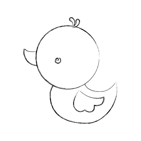 Mignon canard canard canard panda kid illustration vectorielle Banque d'images - 88189168