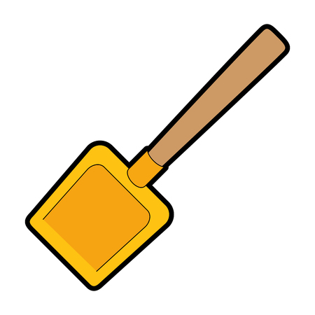 dustpan clean isolated icon vector illustration design Illustration