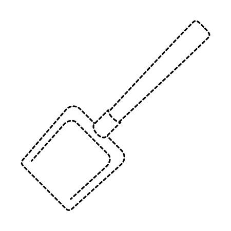 Stoffer schoon geïsoleerd pictogram vectorillustratieontwerp Stockfoto - 88189956