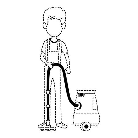 Uomo con progettazione dell & # 39 ; illustrazione di vettore del avatar vuoto Archivio Fotografico - 88190903