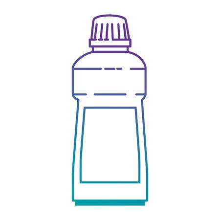 洗剤ボトル分離アイコンベクトルイラストデザイン  イラスト・ベクター素材