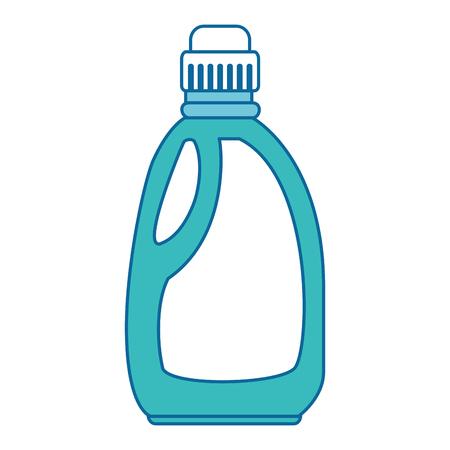 detergent bottle isolated icon vector illustration design