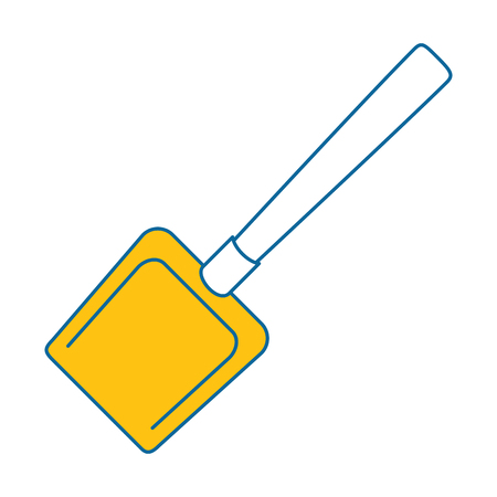dustpan clean isolated icon vector illustration design Ilustração