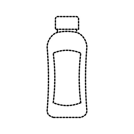 プラスチック ボトルのローションやシャワー ゲル テンプレート デザイン ベクトル図をシャンプーします。 写真素材 - 88197255