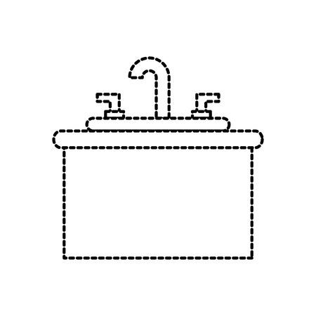 流しの虚栄心のキャビネット家具とバスルームのインテリア