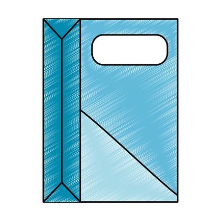 Detergente en polvo icono de la caja de ilustración vectorial de diseño Foto de archivo - 88194749