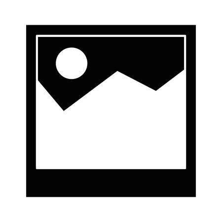 picture file isolated icon vector illustration design Çizim