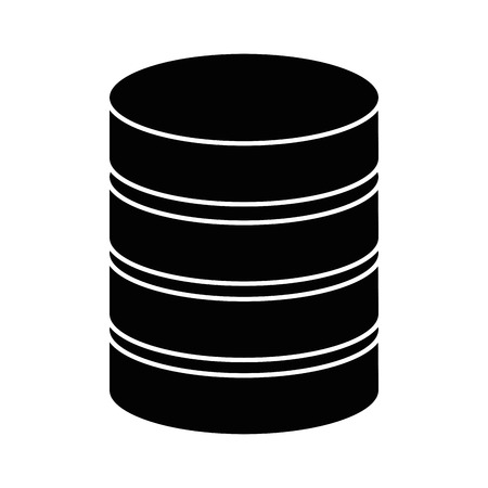 data center disk icon vector illustration design