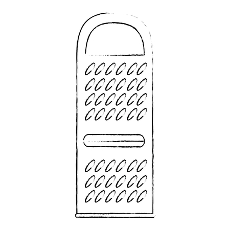 cheese grater isolated icon vector illustration design Illustration