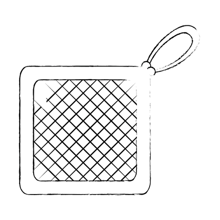 kitchen rag isolated icon vector illustration design Stok Fotoğraf - 88207131