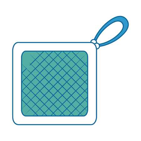 Keuken rag geïsoleerd pictogram vector illustratie ontwerp Stockfoto - 88207286