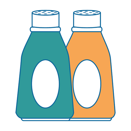 bottle kitchen product icon vector illustration design Illusztráció