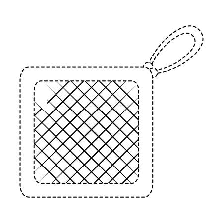 キッチン布分離アイコン ベクトル イラスト デザイン