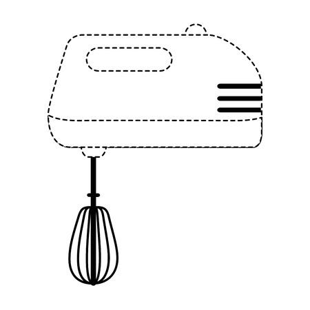 mixer appliance isolated icon vector illustration design Ilustração
