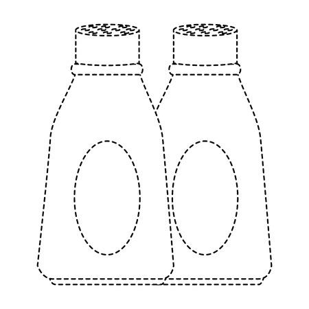fles keuken productontwerp pictogram vector illustratie Stock Illustratie