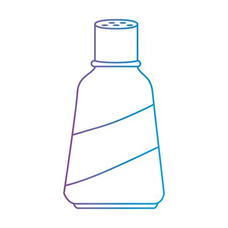 병 부엌 제품 아이콘 벡터 일러스트 레이 션 디자인