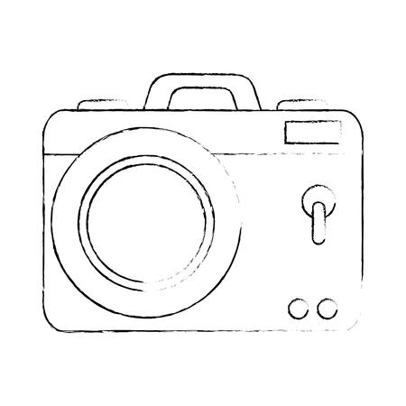 camera photographic isolated icon vector illustration design Stok Fotoğraf - 88210327