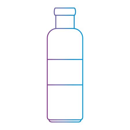 bottle kitchen product icon vector illustration design Ilustração