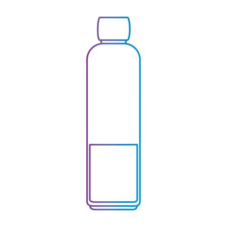 ボトル キッチン製品アイコン ベクトル イラスト デザイン