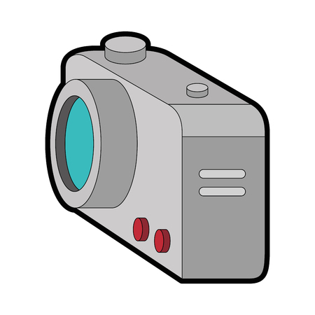 camera photographic isolated icon vector illustration design Stok Fotoğraf - 88210771