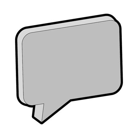 speech bubble isolated icon vector illustration design Фото со стока - 88210791