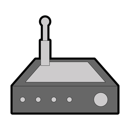 Routeur wifi isolé icône illustration vectorielle conception Banque d'images - 88210843