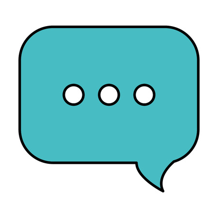 speech bubble isolated icon vector illustration design Фото со стока - 88227636