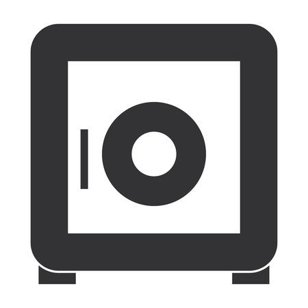 veilige doos vector illustratie beveiligingspictogram ontwerp