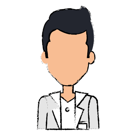 professional doctor avatar character vector illustration design Zdjęcie Seryjne - 88453398