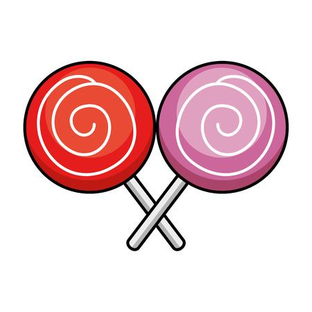 사탕 달콤한 격리 된 아이콘 벡터 일러스트 레이 션 디자인 스톡 콘텐츠 - 88251983